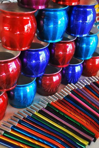 aplicacion de pintura en polvo! mucha variedad de colores!