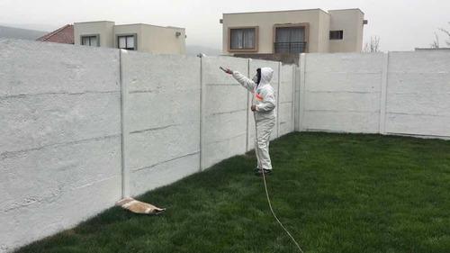 aplicación de pintura sistema airless