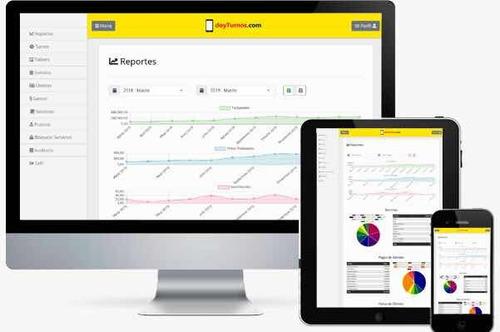 aplicación de turnos - agenda programa sistema app