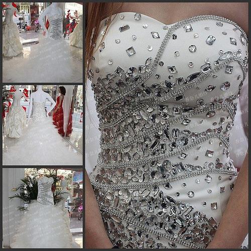 aplicación mod 15 pedrería p vestidos novia cristal auténtic