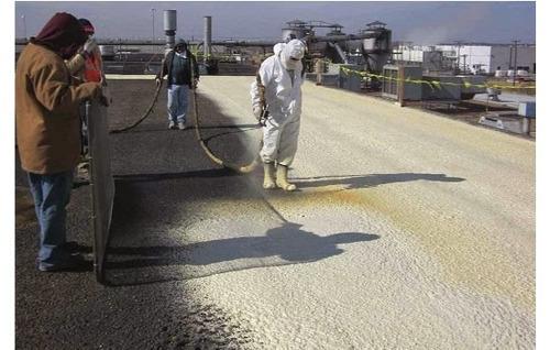 aplicacion poliuretano expandido grandes obras