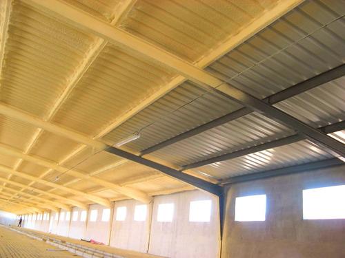 aplicacion poliuretano expandido steel framing
