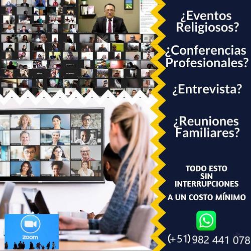 aplicacion  zoom premium 100 % legal -  casi gratis - renta