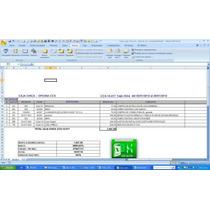 Control De Caja Chica En Excel Con Su Asiento Contable