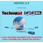 Programa Mónica 9 - Nuevo Dvd:original,sellado, Etc.$449.000