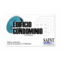 Saint Administración Condominio. Windows 7/8 (32 / 64 Bits)