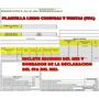 Plantilla En Excel Para Libros De Compra Y Venta (iva)