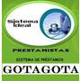 Sistema Ideal Prestamista Gotagota - Diario Rutas Y Cobranza