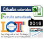 Calculo De Prestaciones Sociales, Actualizada Lottt 2016