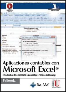aplicaciones contables con microsoft excel. desde el coste a