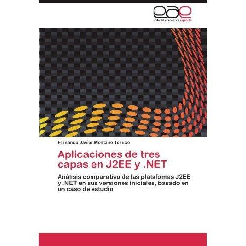 aplicaciones de tres capas en j2ee y .net; fern envío gratis