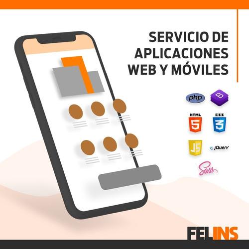 aplicaciones web y moviles. android / ios