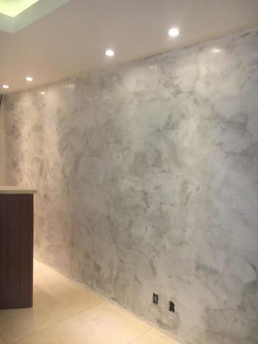 aplicação cimento queimado parede rj