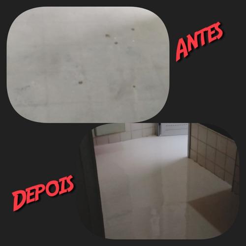 aplicação de resina epóxi (porcelanato líquido)