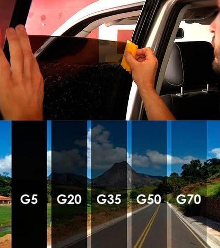 aplicação de revestimento fume películas de proteção  solar