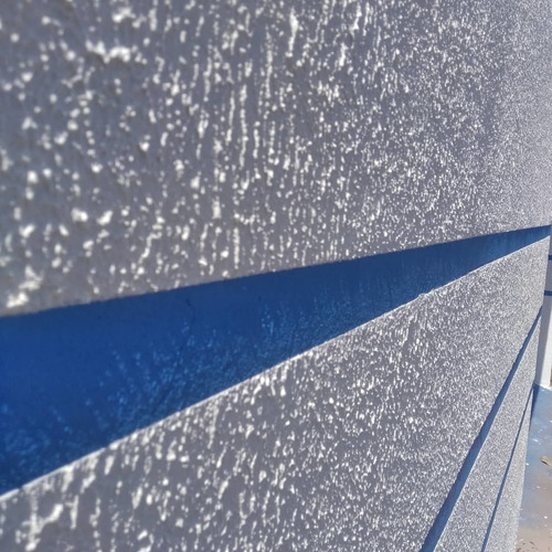 aplicação de textura hidro repelente em promoção