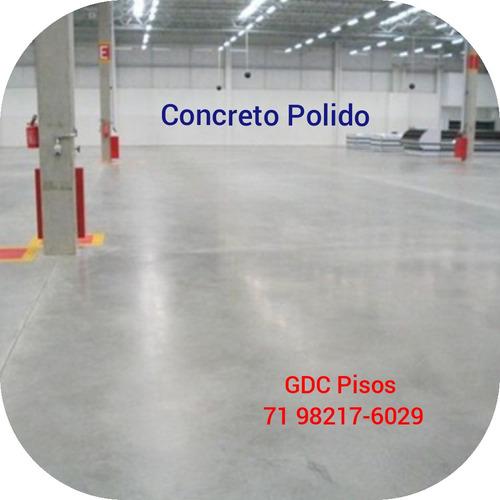 aplicação e polimento pisos