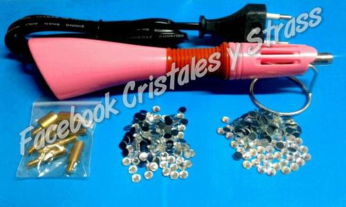 aplicador de strass + cristales hotfix excelente calidad