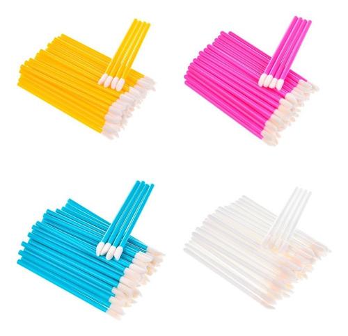 aplicadores descartables de labial x 50 unidades maquillaje
