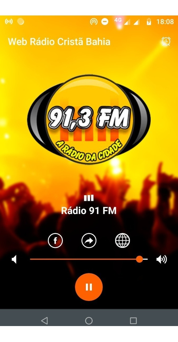 Aplicativo Android P/ Radio E Web Radio Icecast E Shoutcast