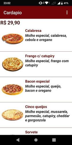 aplicativo android para restaurantes, pizzaria e bares