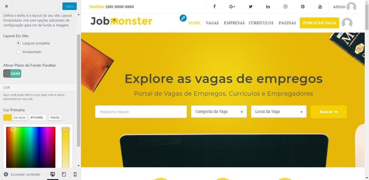 Aplicativo Android + Site Para Vagas De Emprego E Curriculos - R  99 ... f83b2f30c1f