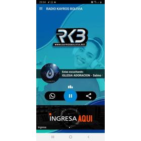 Aplicativo De Rádio - Vários Layout A Escolha