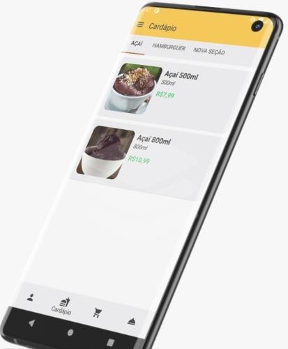 aplicativo de vendas delivery