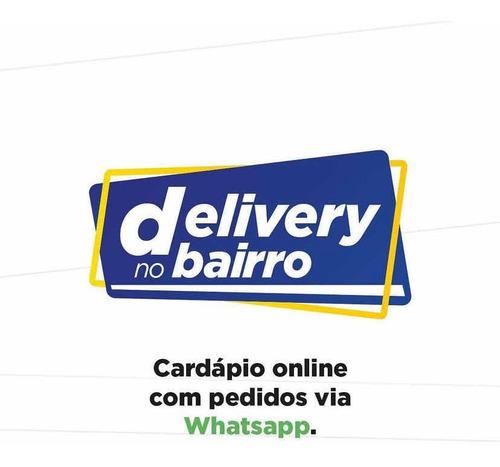 aplicativo delivery com pedidos por whatsapp