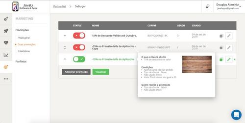 aplicativo pedidos online sem mensalidades!