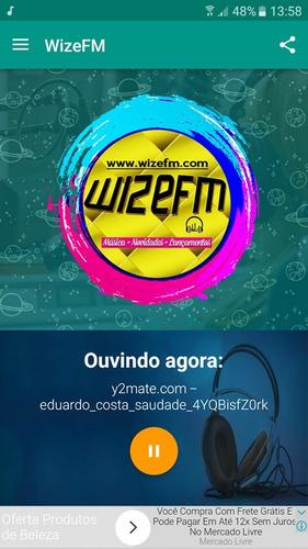 aplicativo rádio com admob
