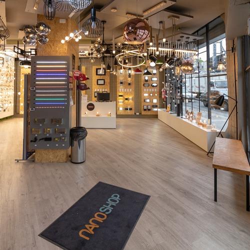 aplique 2 luces madera led diseño nordico pared techo xylo