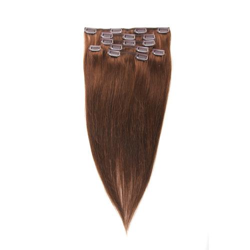 aplique alongamento tic tac cabelo 100% humanos 8 peças