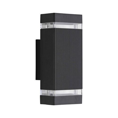 aplique bidireccional aluminio exterior con dicro led 5w