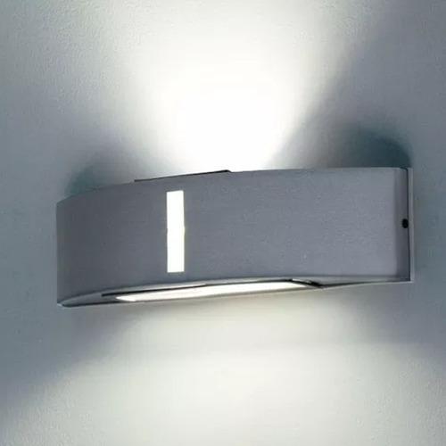 aplique bidireccional exterior con led 10w pack de 4