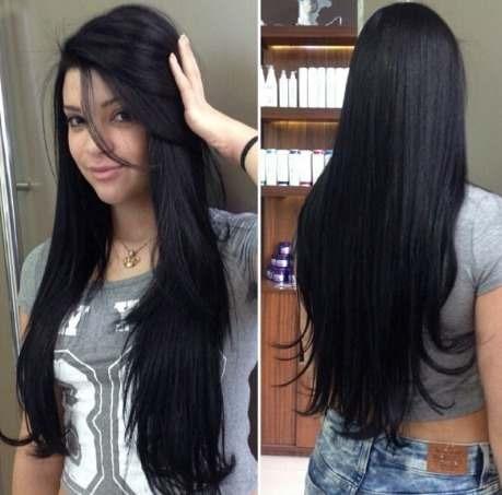 aplique cabelo humano 70cm 100g