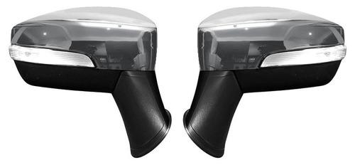 aplique capa retrovisor cromada ford nova ecosport 2013 a 16