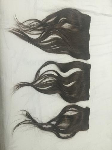 aplique de cabelo humano de tic tac