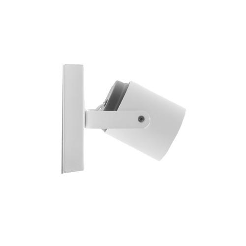 aplique dicroica 2 luces gu10 iluminación baño blanco 220v