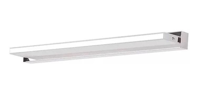 Aplique Espejo Bano.Aplique Difusor Bano Espejo Pared Blend Led 9w Niquel 420mm