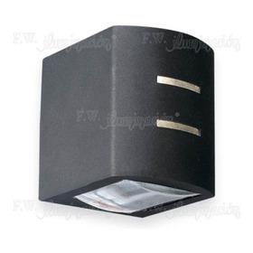 Aplique Exterior Bidireccional 1994 Aluminio Negro Lv
