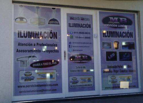 aplique exterior led 2.2w luz calida con visera marca: candil mini tortuga iluminacion led parques jardines
