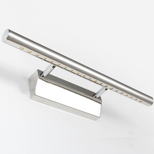Aplique led barra de luz ideal para espejos o cuadros for Espejo y barra montessori