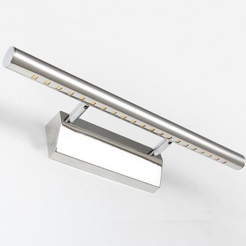 Aplique led barra de luz ideal para espejos o cuadros for Espejo y barra montessori