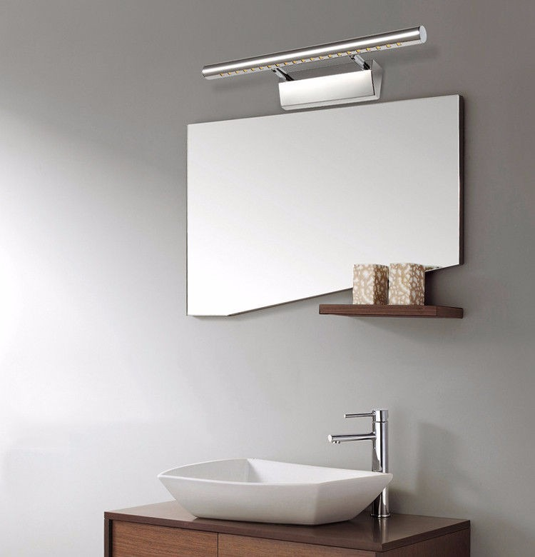 aplique led barra de luz ideal para espejos o cuadros with lamparas led para baos