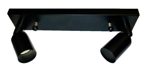 aplique mera 2 luces negro nanoshop diseño en cuotas