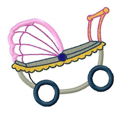 aplique meu bebê - coleção de matriz de bordado
