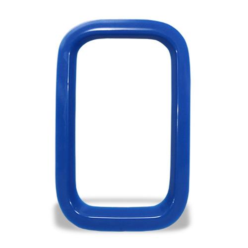 aplique moldura grade uno 10 11 12 a 14 dianteira azul