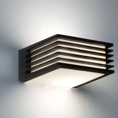 aplique pared exterior bidireccional con foco led 9w o 10w