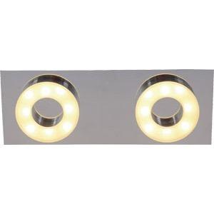 aplique pared techo sublime candil 2 luces led 5w 220v